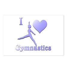 I Love Gymnastics #7 Postcards (Package of 8)
