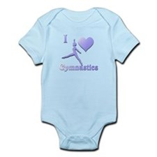 I Love Gymnastics #7 Infant Bodysuit