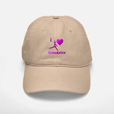 I Love Gymnastics #8 Baseball Baseball Cap
