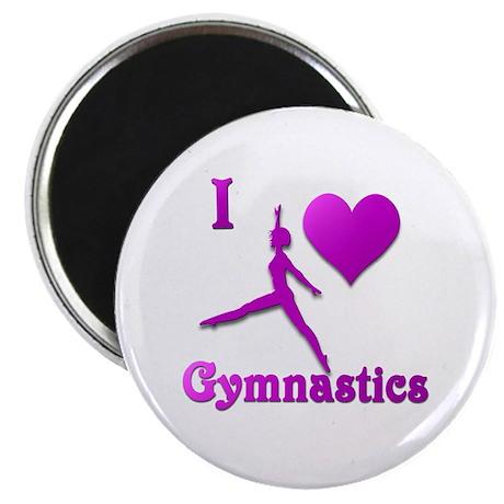 I Love Gymnastics #8 Magnet