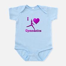 I Love Gymnastics #8 Infant Bodysuit
