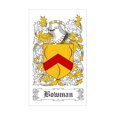 Bowman I [English] Sticker (Rectangular)