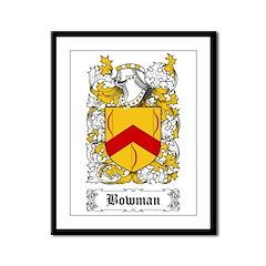 Bowman I [English] Framed Panel Print