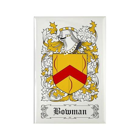 Bowman I [English] Rectangle Magnet