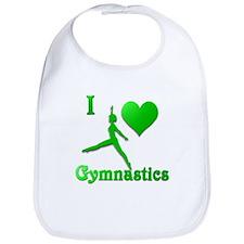I Love Gymnastics #9 Bib