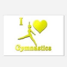 I Love Gymnastics #10 Postcards (Package of 8)