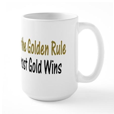 Rule of Gold Large Mug