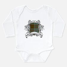 Anderson Tartan Shield Long Sleeve Infant Bodysuit
