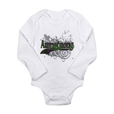 Armstrong Tartan Grunge Long Sleeve Infant Bodysui