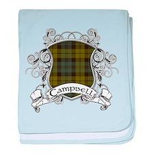 Campbell Tartan Shield baby blanket
