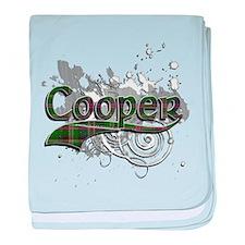 Cooper Tartan Grunge baby blanket