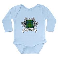 Johnston Tartan Shield Long Sleeve Infant Bodysuit
