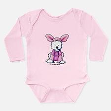 Piglet Westie Long Sleeve Infant Bodysuit