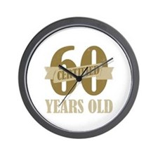 Certified 60 Years Old Wall Clock