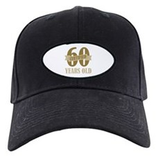 Certified 60 Years Old Baseball Hat