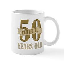 Certified 50 Years Old Mug