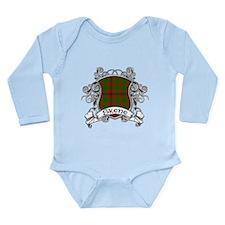 Skene Tartan Shield Long Sleeve Infant Bodysuit