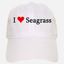 I Love Seagrass Baseball Baseball Cap