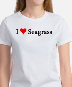 I Love Seagrass Women's T-Shirt