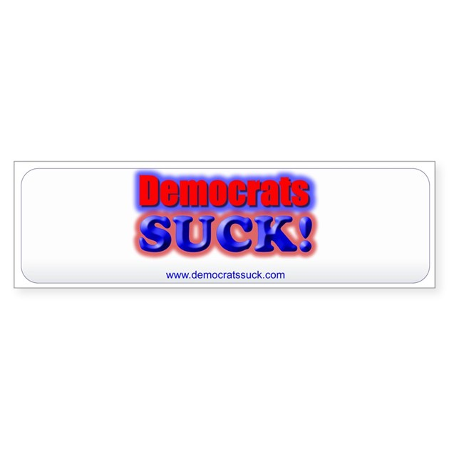 Hydraulics suck bumper sticker