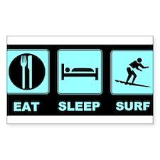 Eat Sleep Surf Decal