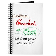 Coffee, Crochet & Chat Journal