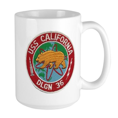USS CALIFORNIA Large Mug