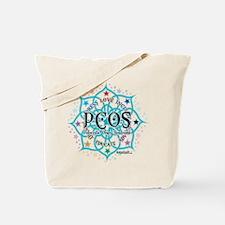 PCOS Lotus Tote Bag