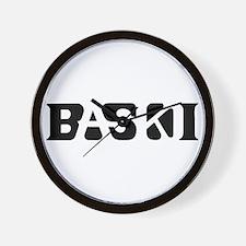 Baski Wall Clock