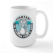 PCOS Cat Fighter Mug