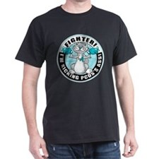 PCOS Cat Fighter T-Shirt