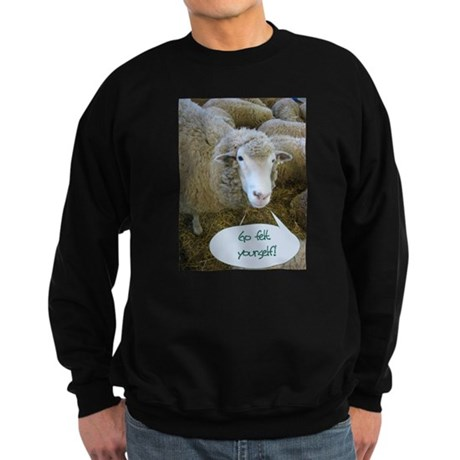 Go Felt Yourself Sweatshirt (dark)