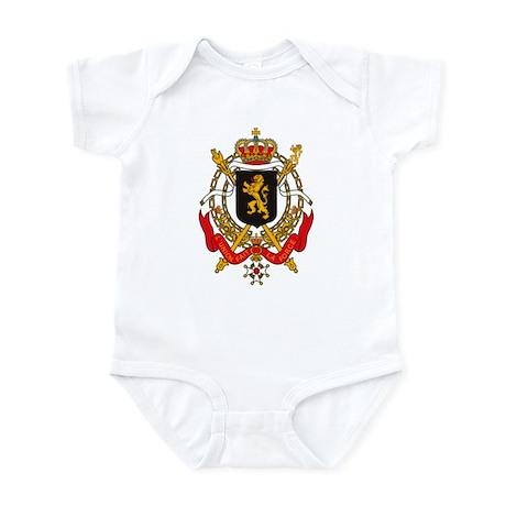 Belgium Coat of Arms Infant Creeper