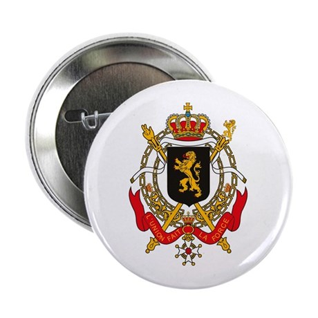 """Belgium Coat of Arms 2.25"""" Button (10 pack)"""