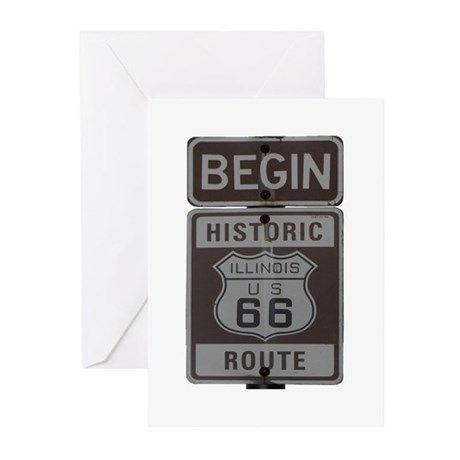 Route 66 Greeting Cards (Pk of 20)