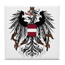 Austrian Coat of Arms Tile Coaster