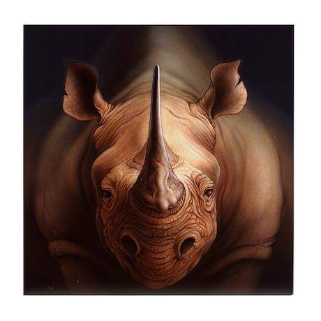 Rhino Tile Coaster