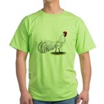 Phoenix White Rooster Green T-Shirt