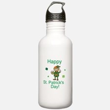Happy St. Patrick's Day Water Bottle