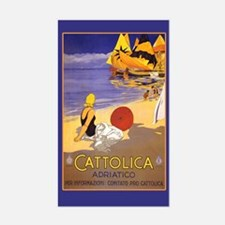 Cattolica Travel Luggage Decal