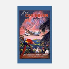 Caribbean Luggage Decal