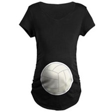 Funny Volleyball Sports Maternity T-shirt