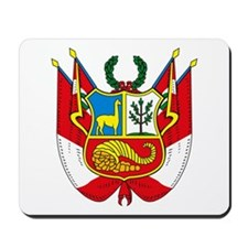 Peru Coat of Arms Mousepad