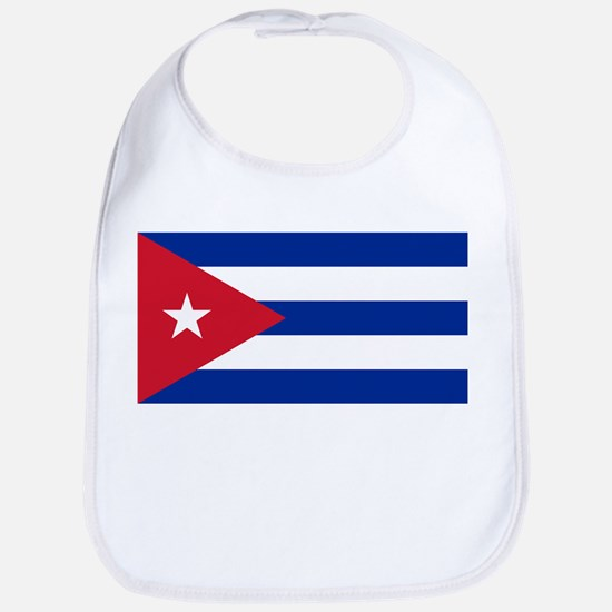 Cuban Flag - Bandera Cubana - Flag of Cub Baby Bib