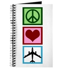 Peace Love Fly Journal