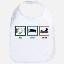 Eat Sleep Swim Bib