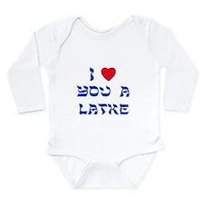 I Love You a Latke Baby Outfits