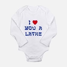 I Love You a Latke Onesie Romper Suit