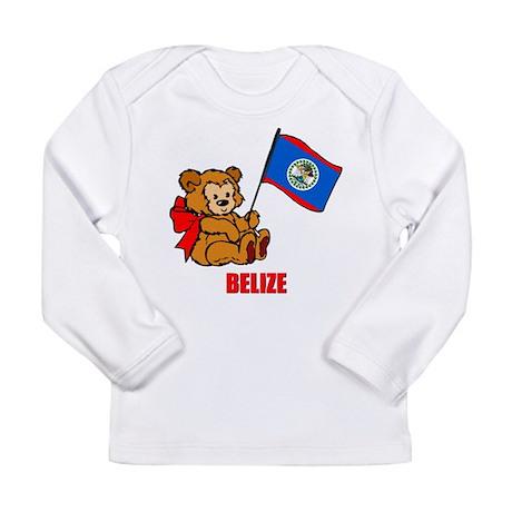 Belize Teddy Bear Long Sleeve Infant T-Shirt