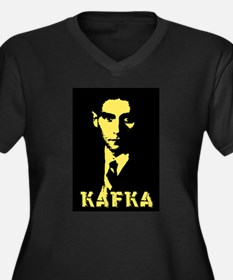 Franz Kafka Women's Plus Size V-Neck Dark T-Shirt